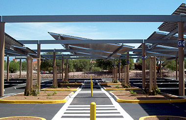 Tucson International Airport Solar Canopy ... & Tucson International Airport Solar Canopy u2013 Schneider Structural ...