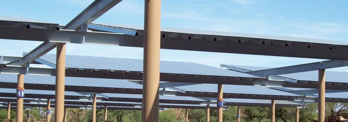 Tucson International Airport Solar Canopy