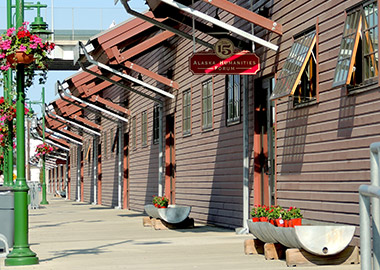 Alaska Railroad Freight Shed