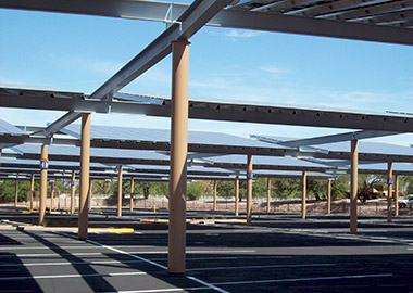 Tucson International Airport Solar Canopy