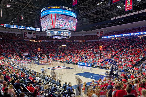 ENR Southwest Names University of Arizona McKale Center Renovation Best Project in Sports/Entertainment